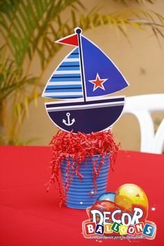 arreglos de bombas para baby shower nautica - Google Search Baby Birthday, 1st Birthday Parties, Baby Shower Parties, Baby Boy Shower, Baby Shower Marinero, Baby Crib Diy, Baby Shower Decorations For Boys, Nautical Party, Party Themes