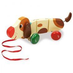 Voilà un adorable chien saucisse que l'on a envie d'adopter ! Signé Mélusine Allirol.