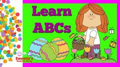 Learning your ABCs is a very important thing! Sweetie is here to help you learn them with Easter Eggs. Both upper and lower case letters will scroll across t. Teaching Toddlers Abc, Toddler Learning, Learning Letters, Preschool Kindergarten, Abcs, Lower Case Letters, Pre School, Easter Eggs, Fun