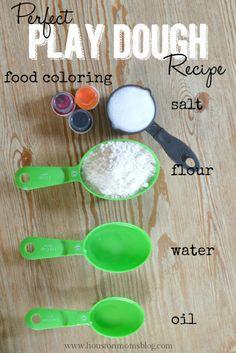 The Perfect Play Dough Recipe | Houston Moms Blog