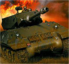 Achilles IIC del 1er. Rgmt  Artilgleria, 1. Divisione corazzata polacca, Francia 1944. - Arkadiusz Wrobel