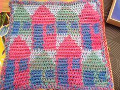 354 Beste Afbeeldingen Van Crochet Tapestry Yarns Crochet Bags En
