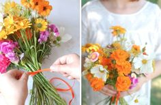 Wedding Color Inspiration: Get Married with Marigold | OneWed