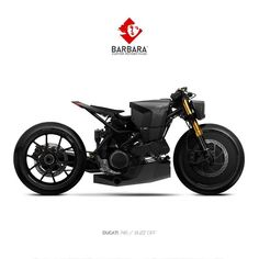 Barbara Custom Motorcycles More on RHB_RBS The custom made street motorcycle is an exceptional street Futuristic Motorcycle, Motorcycle Shop, Cruiser Motorcycle, Motorcycle Types, Women Motorcycle, Scrambler Motorcycle, Motorcycle Helmets, Concept Motorcycles, Custom Motorcycles