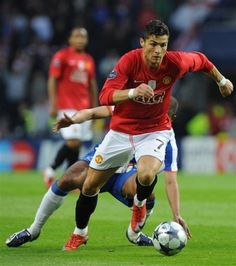 Christiano Rinaldo:) Skilled....and good lookin'