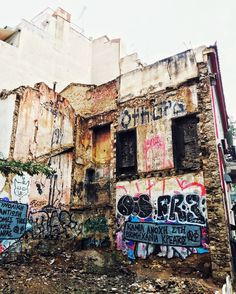 The crumbling beauty of Exarchia