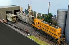 Model Train Resource: HO-Scale Track Plans for Shelf Layouts
