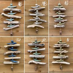 Scandinavian Wall Decor, Sea Glass Crafts, Fire Clay, Driftwood Crafts, Beach Crafts, Air Dry Clay, Inspired Homes, Wabi Sabi, Ceramic Pottery