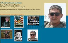 CLINTON MCGHEE... real man is Ryan Mcghee, Killed in 2009. DISGUSTING SCAMMERS USING HIM TO SCAM MONEY https://www.facebook.com/LoveRescuers/posts/606986872801077