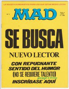 Spain: Mad Magazine #3 VF, 1974,
