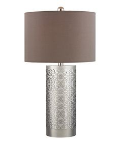 Another great find on #zulily! Metal Filigree Table Lamp #zulilyfinds