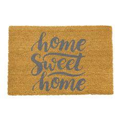 Discover the Artsy Doormats Home Sweet Home Doormat - Grey at Amara
