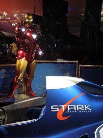 Hollywood Movie Costumes And Props Tony Stark S F1 Race Car From Iron Man 2 On Display Iron Man Tony Stark Tony
