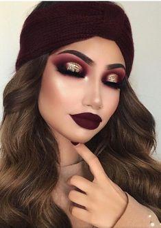 Homecoming Makeup: 50 Best Eye Makeup Ideas for Homecoming - Make up augen Homecoming Makeup, Prom Makeup, Hair Makeup, Homecoming Ideas, Eyelashes Makeup, Formal Makeup, Scary Makeup, Eyeshadow Makeup, Makeup Brushes