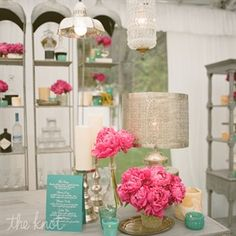 The idea of bringing teal in with pink makes for a colorful bright decor for my dream beach house.