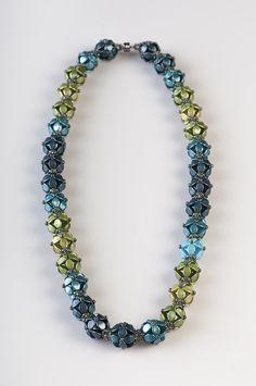 Berries necklace with PRECIOSA Pinch beads