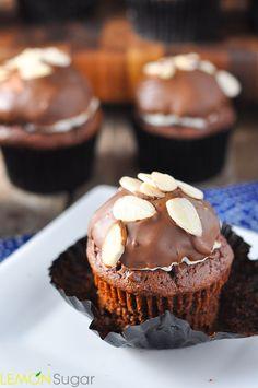 Almond Joy Cupcakes   www.lemon-sugar.com