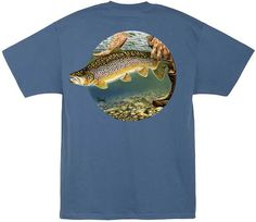 Al Agnew Catch and Release Back-Print T-Shirt