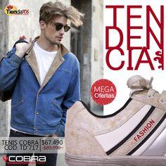 TENIS COBRA - MARCA TENDENCIA A DONDE VAYAS. ¡APROVECHA LAS MEGA OFERTAS!