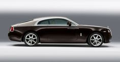 The new Rolls Royce Wraith....Oh, make it stop....this is one beautiful car.