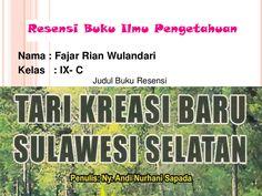 Contoh Resensi Buku by fajarr_wulan via slideshare