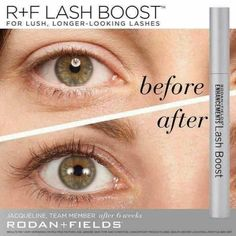 c21372ba783 Who doesn't want longer fuller lashes? I got amazing results and YOU can  too with Rodan+Fields Lash Boost!