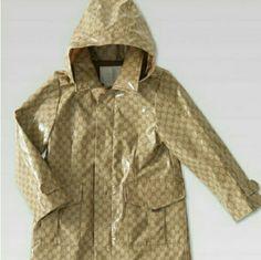 d5b5c921b991 Shop Kids  Gucci Brown Tan size 4TG Raincoats at a discounted price at  Poshmark.