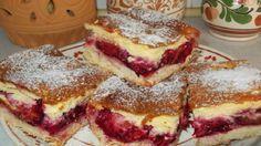 Lahodný koláč se švestkami! Pochutná si celá rodinka, nebo i návštěva! Hungarian Desserts, Hungarian Recipes, Sweet Recipes, Cake Recipes, Dessert Recipes, Delicious Desserts, Yummy Food, Czech Recipes, Baking And Pastry