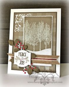 Discover more about Handmade Christmas Cards Christmas Cards 2018, Homemade Christmas Cards, Stampin Up Christmas, Xmas Cards, Homemade Cards, Handmade Christmas, Holiday Cards, Christmas Diy, Christmas Projects