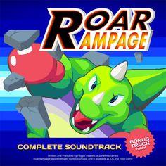 Roar Rampage's soundtrack! #indiegames #videogames #gamesinitaly