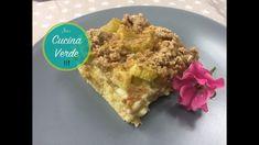 Rhabarber-Streusel Kuchen - Dessert Rezept Desserts, Sprinkles, Tailgate Desserts, Deserts, Postres, Dessert, Plated Desserts
