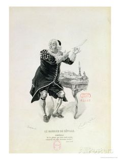 """size: Giclee Print: Dr Bartolo, from the Opera """"The Barber of Seville"""" by Rossini by Emile Antoine Bayard : Fine Art The Barber Of Seville, Figurative Art, Find Art, Framed Artwork, Gifts In A Mug, Poster Size Prints, Photo Puzzle, Giclee Print, Original Artwork"""