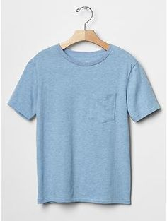PURCHASED - Solid pocket tee   Gap