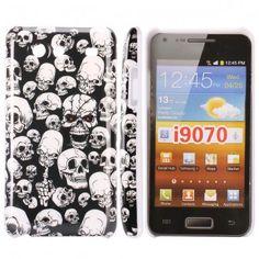 Mobilskalet iConic (Dödskalle) Samsung Galaxy S Advance-Skal