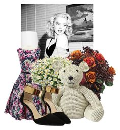 """""""Rosegal I/1"""" by belle-papillon ❤ liked on Polyvore featuring Allstate Floral, Anne-Claire Petit and vintage"""