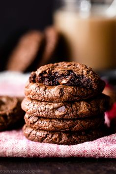 Chewy Brownies, Double Chocolate Chip Cookies, Tea Cakes, Shortbread, Chocolate Flavors, Chocolate Chips, Best Chocolate, Melting Chocolate, Biscotti