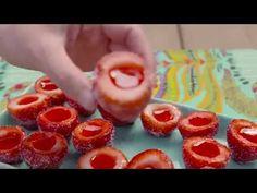 Best Strawberry Daiquiri Jello Shots Recipe - How To Make Strawberry Daiquiri Jello Shots