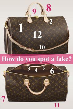 How do spot a fake Louis? Read these 12 tips and find out!