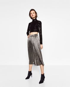 ae48373b6f 7 Zara Looks for Your Chicest NYE Ever via  WhoWhatWear Zara Fiesta