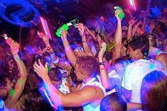 Go to a Life in Color/Dayglow Event. Sounds like a really good time