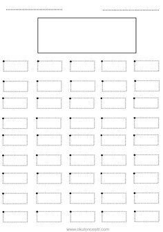 Dikdörtgen kavramı çalışma sayfası ve dikdörtgen geometrik şekiller kavramı çalışmaları etkinliği örnekleri kağıdı indirme, çıktı yazdırma. Free rectangle worksheets download printable.