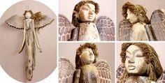 Les anges de la mer - Sculptures en bois flottés - Rue de Siam