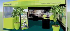 Ecogest s.r.l. - Progettazione e allestimento stand. Realizzazione: Agenzia Verde