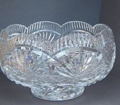 Waterford Crystal Master Cutters 8' Serving Bowl by myabbiesattic, $500.00
