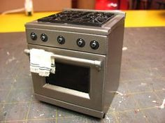 1 INCH SCALE STAINLESS CONTEMPORARY RANGE TUTORIAL - How to...