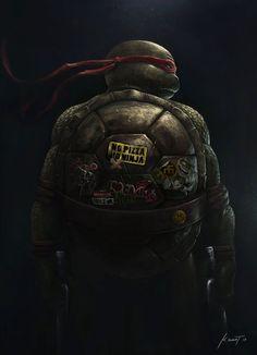 Tortugas Ninja, Las mejores ilustraciones, ¡Cowabunga! [HD]