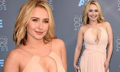 Hayden Panettiere returns to the red carpet at Critics' Choice Award 2016 | Daily Mail Online