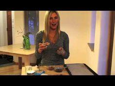 Raw vegan peanut butter balls dipped in dark chocolate. Recipe video