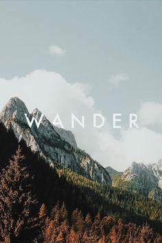 wander