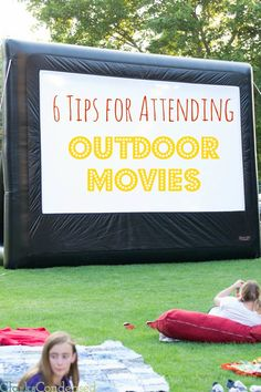 Summertime is filled with fun, outdoor movies! They are a great way to spend time with your family , get some fresh air, and  enjoy a free outdoor movie! Here are a few tips to make the experience even more enjoyable. #ClarksCondensed